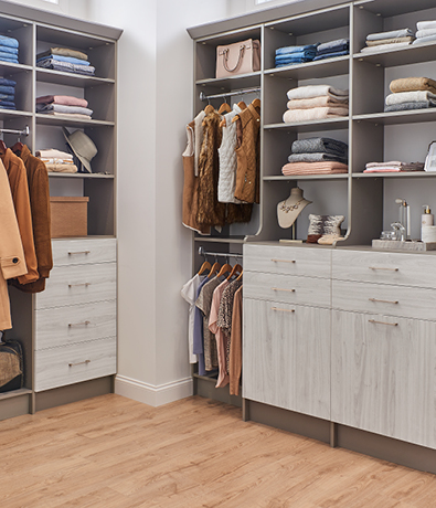 ClosetMaid MasterSuite 27th Avenue Modern in Washed White