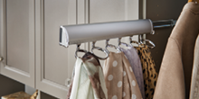 MasterSuite Sliding Scarf Rack