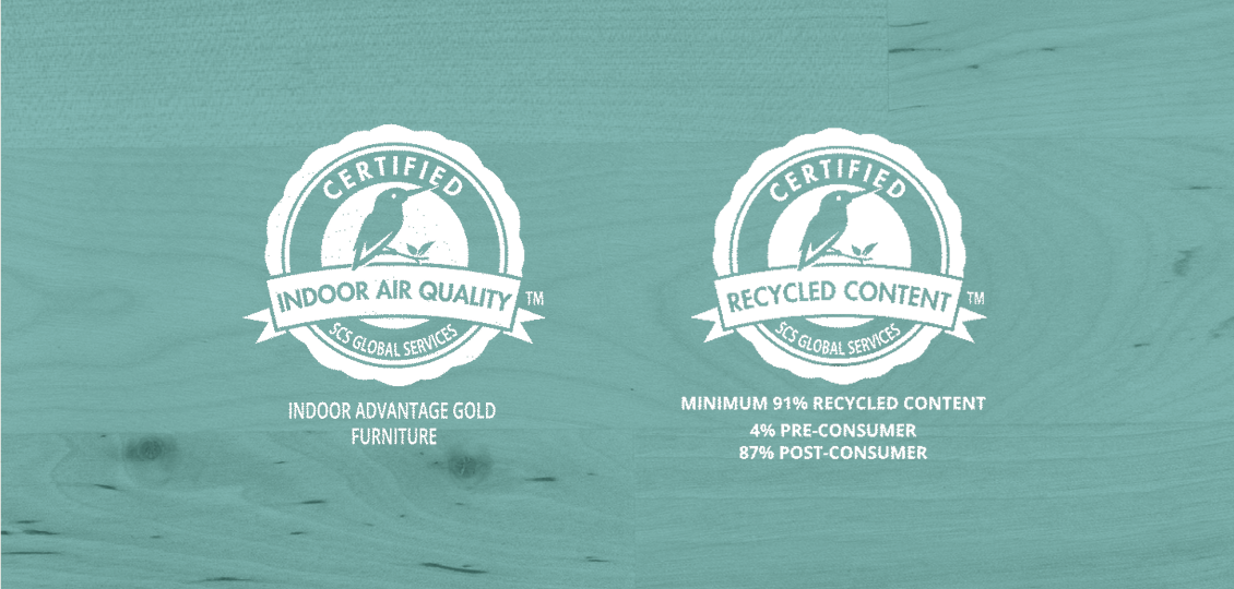ClosetMaid Sustainability Certifications Image